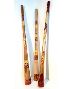 DIDGERIDOO TECK 1m50 YELLOW BASE COLORS